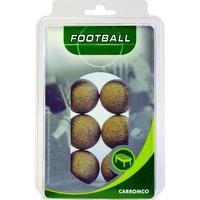 CARROMCO Kickerbälle 6er Pack Kork (62206)