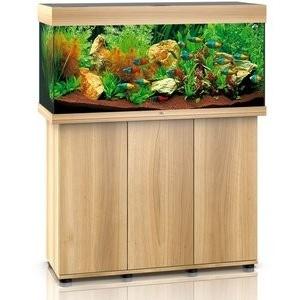 JUWEL RIO 180 LED Aquariumkombination mit Unterschrank SBX helles Holz