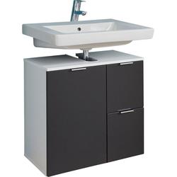trendteam Waschbeckenunterschrank Concept One Breite 60 cm grau