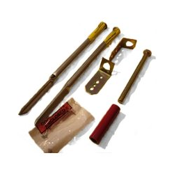 Garden Bench Anchors - Kit For Soft Surfaces