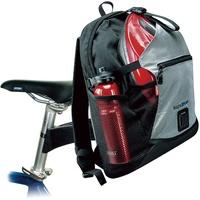 KLICKfix Freepack Sport Schwarz-Sil, 0276S Gepäckträgertasche