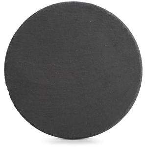 Zeller Servierplatte rund aus Schiefer, 30 cm