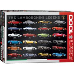 empireposter Puzzle Lamborghini die Legende - 1000 Teile Puzzle Format 68x48 cm, 1000 Puzzleteile