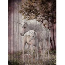 living walls Fototapete Walls by Patel Fantasy 4, glatt, (2 St)