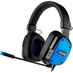 Sades Dpower SA-722 Gaming-Headset (Kompatibel mit PS4, PS5, Xbox One, Xbox Series X/S und Nintendo Switch) blau
