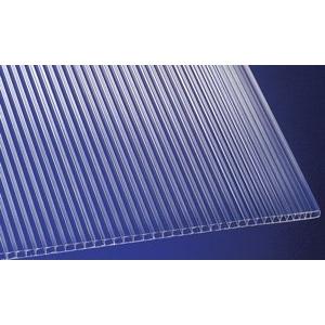 Polycarbonat Stegplatten Hohlkammerplatten klar 6000 x 1050 x 6 mm