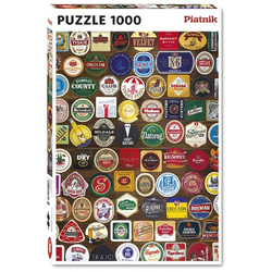 Piatnik Puzzle Andrea Tilk Bierdeckel 1000 Teile Puzzle, 1000 Puzzleteile