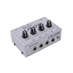 Omnitronic LH-031 Kopfhörerverstärker Weiß