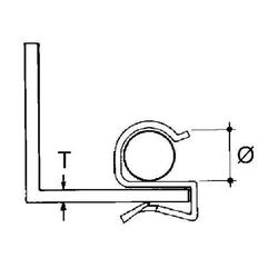 Niedax Kabelbefestigung ECL-89
