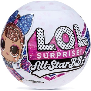 LOL Surprise All-Star BBs - Cheer Team - Sportliche Glitzerpuppe mit 8 Überraschungen und Modeaccessoires - All-Star BBs Serie 2 - Sammlerpuppen für Mädchen ab 3 Jahren