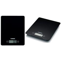 MELISSA Küchenwaage Melissa 16310231 elektrische Design Küchenwaage batteriebetrieben mit LCD Display