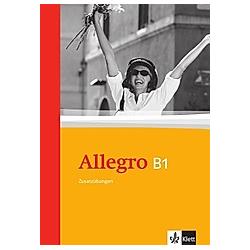 Allegro  Zusatzübungen: Bd.3 Allegro B1 - Buch
