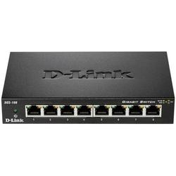 D-Link DGS-108 Netzwerk Switch 8 Port 1 GBit/s