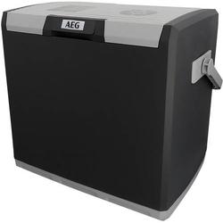 AEG KK 28 Kühlbox EEK: A++ (A+++ - G) Thermoelektrisch 12 V/DC, 230 V/AC Grau 28l