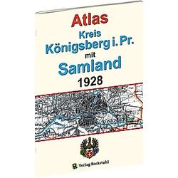 ATLAS Kreis Königsberg i. Pr. mit Samland 1928 - Buch