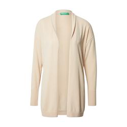 UNITED COLORS OF BENETTON Damen Cardigan beige, Größe L, 5067520