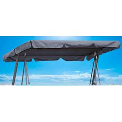 Quick Star Hollywoodschaukelersatzdach grau Sonnensegel Sonnenschirme -segel Gartenmöbel Gartendeko