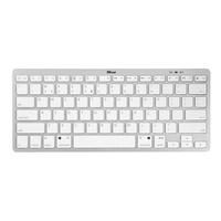 Trust Nado Wireless Bluetooth Tastatur DE hellgrau (22243)