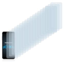 Savvies Schutzfolie für Vivax Point X2, (18 Stück), Folie Schutzfolie klar