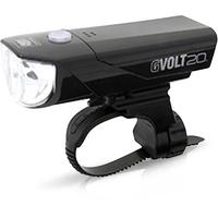 Cat Eye Cateye Fahrrad-Scheinwerfer GVOLT20RC HL-EL350G-RC LED akkubetrieben Schwarz