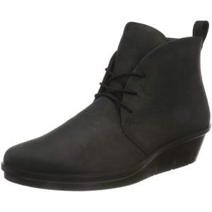 ECCO Damen Skyler Oil Nubuck Ankle Boot, Schwarz (Black), 37 EU