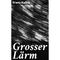 Grosser Lärm: eBook von Franz Kafka