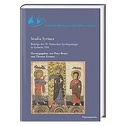 Studia Syriaca - Buch