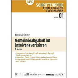 Gemeindeabgaben im Insolvenzverfahren als Buch von Franz Flotzinger/ Walter Leiss