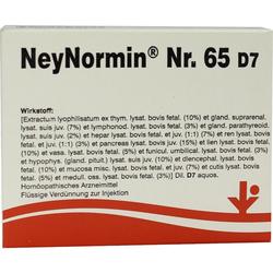 Neynormin Nr.65 D 7 Ampullen