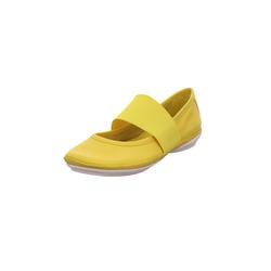 Halbschuhe Camper gelb
