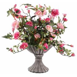 Kunstpflanze Wildrosen Wildröschen, I.GE.A., Höhe 41 cm rosa