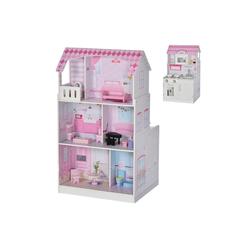 HOMCOM Puppenhaus Puppenhaus und Spielküche