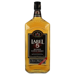 Label 5 Whisky 40% 1 ltr.