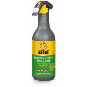 Effol Bremsen-Blocker + horse & rider Fliegenabwehrmittel, Das Fliegenschutzspray für alle, 250 ml - Flasche