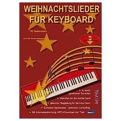 Weihnachtslieder für Keyboard - Buch