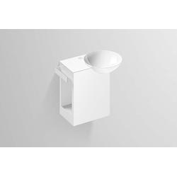 Alape Waschplatz Insert2 5242000000 weiß, 48,5 x 31,7 cm, Stahlbecken