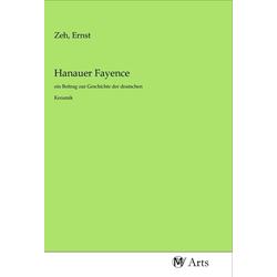 Hanauer Fayence als Buch von