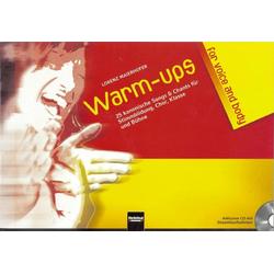 Warm-ups for voice & body als Buch von Lorenz Maierhofer