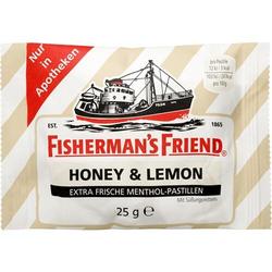 FISHERMANS FRIEND Honey & Lemon ohne Zucker Pasti. 25 g