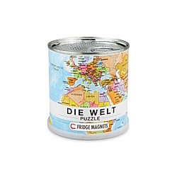 Welt puzzle magnets