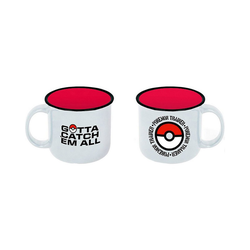 POKÉMON Tasse Pokemon Becher Trainer Pokeball (400 ml)