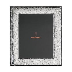 Sambonet Silberrahmen Bilderrahmen Skin versilbert 18 x 24 cm Silberrahmen 59660L12