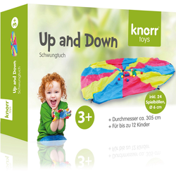 Knorrtoys® Spiel, Schwungtuch Up and Down