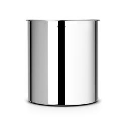 BRABANTIA Papierkorb 7 Liter - Brilliant Steel