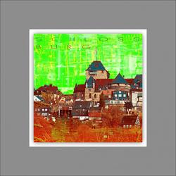 Alubild WUPPERTAL (LB 50x50 cm) Pro-Art
