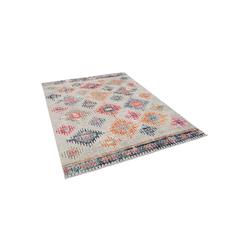 Orientteppich Designer Teppich Vintage Zoe Orient Rauten Vintage, Pergamon, Rechteckig, Höhe 6 mm 140 cm x 200 cm x 6 mm