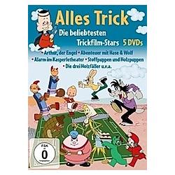 Alles Trick-Die Beliebtesten Trickfilm-Stars - DVD  Filme