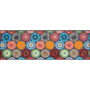 wash+dry Fußmatte, Coralis 60x180 cm, innen und außen, waschbar