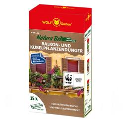 Natura Bio Balkon & Kübelpflanzendünger N-BK 1.9