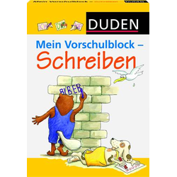 Duden-M.Vorschulblock Schreiben